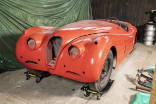 The Property of a Gentleman and Racing Enthusiast,1952 Jaguar XK120 Roadster Project Chassis no....
