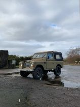 1978 Land Rover Series III Chassis no. 90624489A