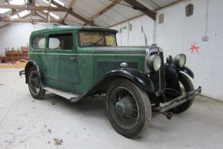 1931 Standard 9HP 111 Saloon Chassis no. 110708