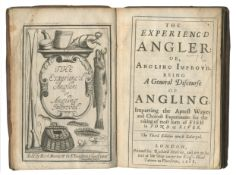 ANGLING VENABLES (ROBERT) The Experienc'd Angler: or Angling Improv'd, Richard Mariott, 1668
