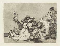 GOYA (FRANCISCO De) Los Desastres de la guerra. Collección de ochenta láminas inventad...