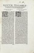 BIBLE, GREEK AND LATIN. Novum Testamentum, 1535--ERASMUS. Opus epistolarum, 1529 (2)