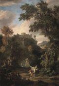 Circle of Adriaen van Diest (The Hague 1655-1704 London) Tobias and the Angel