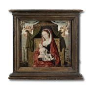 Flemish School, 16th Century The Madonna and Child