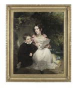 Henry William Pickersgill RA (London 1782-1875) The Countess of Clanwilliam and her brother, seat...
