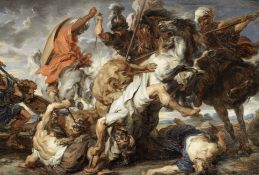 After Sir Peter Paul Rubens, early 19th Century The Lion Hunt