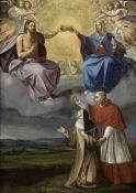 After Giuseppe Cesari, called il Cavalier d'Arpino, early 17th Century Saint Carlo Borromeo prese...