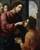 Attributed to Jacopo Vignali (Prato Vecchio 1592-1664 Florence) Christ healing the Blind