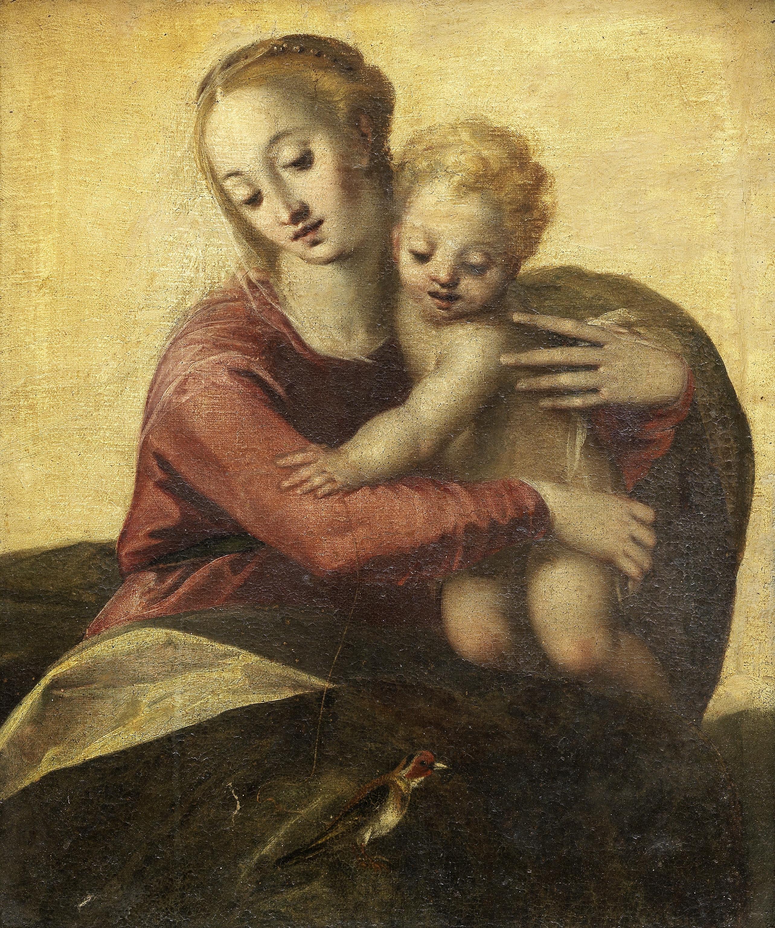 Circle of Jacopo Negretti, called Palma il Giovane (Venice circa 1548-1628) The Madonna and Child