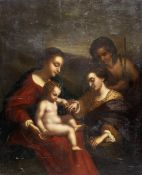 After Antonio Allegri, called il Correggio, early 19th Century The Mystic Marriage of Saint Cathe...