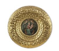 Italian School, 16th Century The Madonna and Child enthroned 40.2cm. (15 3/4in.) diameter