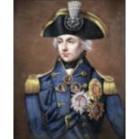 After Lemuel Francis Abbott, early 20th century Rear-Admiral Sir Horatio Nelson together with a p...