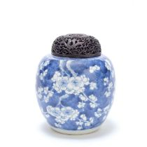 A BLUE AND WHITE GINGER JAR Kangxi (2)