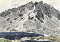 Sir Kyffin Williams R.A. (British, 1918-2006) Llyn y Gadair, Cader Idris