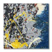 MIKE BIDLO (B. 1953) Not Pollock circa 1983