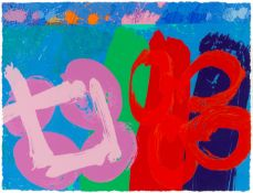 Albert Irvin R.A. (British, 1922-2015) Plates III; IV; VI, from 'Louise' Three screenprints with...