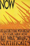 Christopher Richard Wynne Nevinson A.R.A. (British, 1889-1946) Now the Bayonets have Won Through ...
