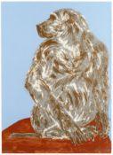 Dame Elisabeth Frink R.A. (British, 1930-1993) Baboon Screenprint in colours, 1990, on BFK Rives,...