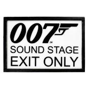 James Bond: A Production Studios Sound Stage Sign,