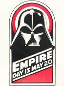 Star Wars: A rare 'Empire Day' poster for The Empire Strikes Back, Lucasfilm / Twentieth Century ...