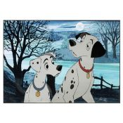 One Hundred and One Dalmatians: An Animation Cel of 'Perdita' and 'Pongo', Walt Disney, 1961,