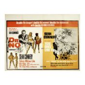 Dr No/You Only Live Twice, Eon Productions/United Artists, 1968 (re-release),