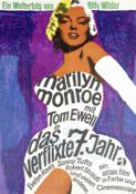 The Seven Year Itch, Atlas, 1966 (re-release),