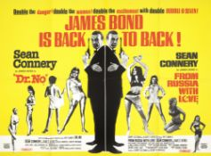 Dr No/From Russia With Love, Eon Productions / United Artists, 1965 (re-release),