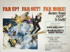 On Her Majesty's Secret Service, Eon Productions / United Artists, 1969,
