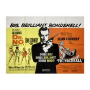 Dr. No/Thunderball, Eon Productions / United Artists, 1970s (re-release),