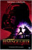 Star Wars: The Revenge of the Jedi, Lucasfilm / Twentieth Century Fox, 1982,
