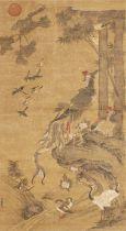 After Lu Ji (1477-?) Phoenix and Paulownia