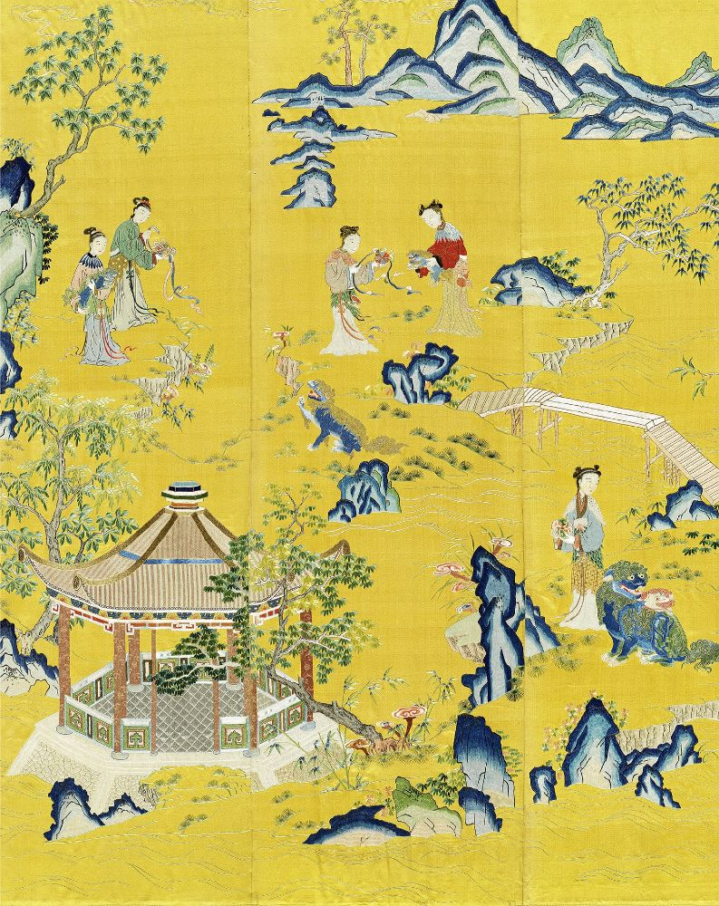 Fine Chinese Art Including Exceptional Textiles Curated by Linda Wrigglesworth