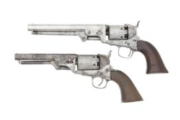 A Colt 1851 Model Navy Percussion Revolver (2)
