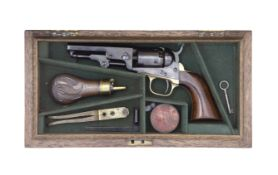 A Cased Colt 1849 Model Pocket Percussion Revolver