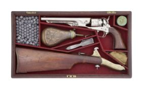 A Cased Colt 1860 Model Army Percussion Revolver