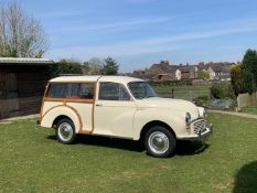 1967 Morris Minor 1000 Traveller Chassis no. MAW5D1174780