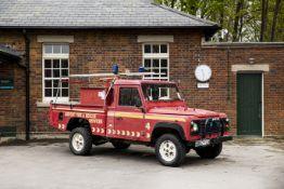 1987 Land Rover 110 V8 Defender Fire Tender Chassis no. SALLDHAV7BA297904