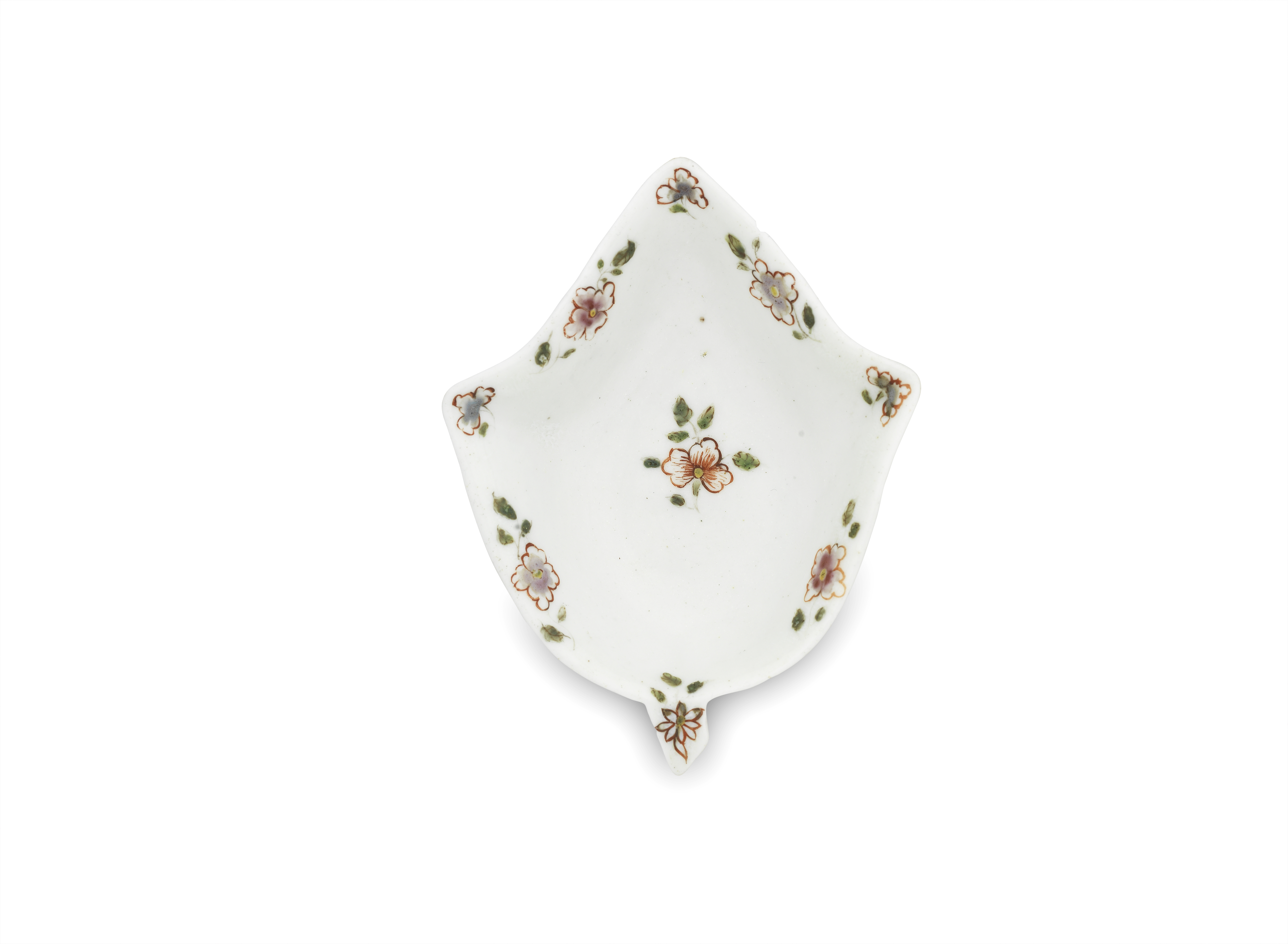 An early Worcester pickle dish, circa 1752-53