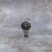 Omega. A stainless steel manual wind chronograph bracelet watch Speedmaster, Ref: 2998-4, Circa ...
