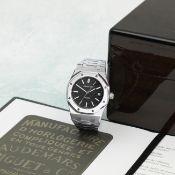 Audemars Piguet. A stainless steel automatic calendar bracelet watch Royal Oak, Ref: 15300ST.OO....