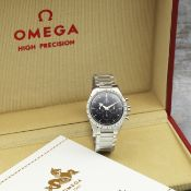 Omega. A Limited Edition stainless steel manual wind chronograph bracelet watch Speedmaster, Lim...