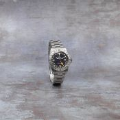 Rolex. A stainless steel automatic calendar bracelet watch with dual time zone Explorer II, Ref:...
