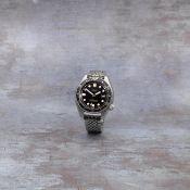 Seiko. A rare stainless steel automatic diver's calendar bracelet watch Ref: 6215-7000, Circa 1967