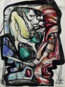 Ernst Neizvestnyi (1926-2016) Untitled 62.3 x 47.6cm (24 1/2 x 18 3/4in).