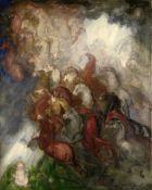 Boris Izrailevich Anisfeld (Russian, 1879-1973) 'Dreams'