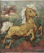 David Burliuk (Russian/American, 1882-1967) Horse