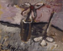 Vladimir Igorevich Yakovlev (Russian, 1934-1998) Still life with a turned flower