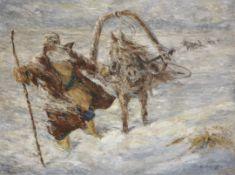 Vadim Dmitrievitch Falileev (1879-1950) Blizzard