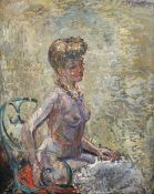 Constantin Terechkovitch (American/Russian, 1902-1978) Buste de danseuse